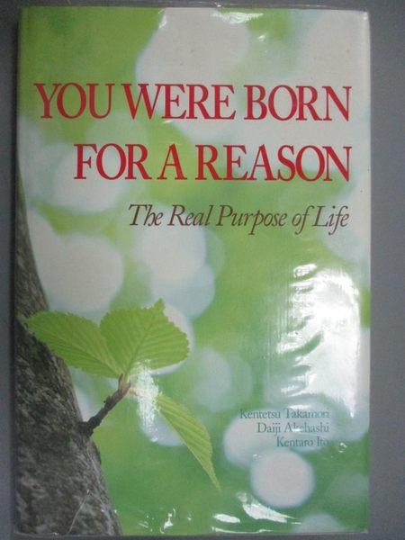 【書寶二手書T8/勵志_YCP】You Were Born for a Reason: The Real Purpose