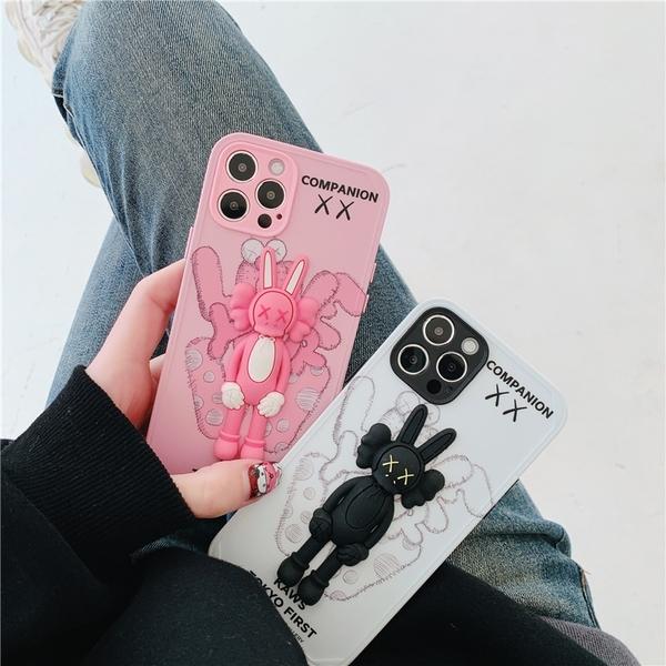 KAWS 潮牌兔女郎 適用 iPhone12Pro 11 Max Mini Xr X Xs 7 8 plus 蘋果手機殼