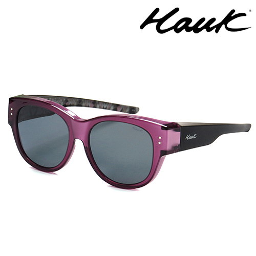 HAWK偏光太陽套鏡(眼鏡族專用)HK1016-12A