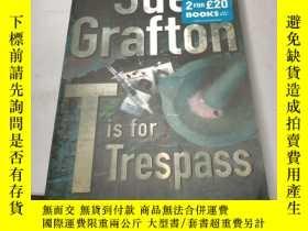 二手書博民逛書店Sue Grafton Tis罕見for TrespassY24
