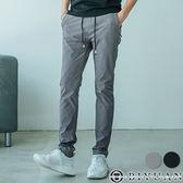 快速乾機能休閒褲【FYB918】OBIYUAN 口袋拉鍊素面抽繩長褲 共2色 有加大尺碼