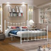 時尚環保歐式鐵藝床1.5米1.8米雙人床1.2米單人宿舍床鐵床鋼管床 qz5003【甜心小妮童裝】