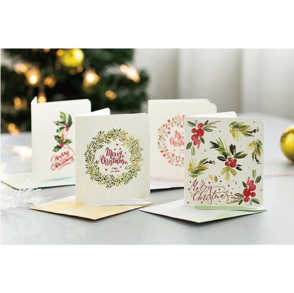 卡片│清新風格聖誕賀卡組