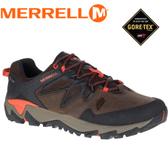 【MERRELL 美國 男款ALL OUT BLAZE 2 GORE-TEX 多功能健行鞋《咖啡/橘》】ML09407/休閒鞋/健行