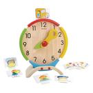 《 泰國 PLAN TOYS 》我的一天時鐘學習組 / JOYBUS玩具百貨