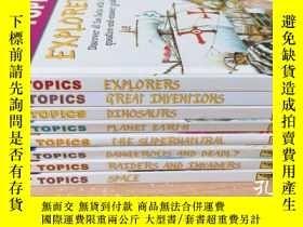 二手書博民逛書店Hot罕見Topics【8本】Y20113 見圖 見圖