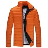 羽絨外套 冬季長款棉衣男士百搭修身韓版潮流帥氣加厚外套新款羽絨棉服 交換禮物