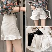 白色牛仔短褲女夏季2020新款韓版高腰寬鬆彈力顯瘦闊腿熱褲潮ins 618年中大促銷