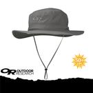 【Outdoor Research 美國 OR HELIOS SUN HAT 抗UV透氣中盤帽《深灰》】243458-0008/UPF50+/吸濕排汗