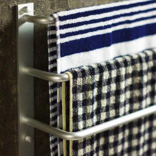 太空鋁 三杆毛巾架