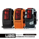 【UAG】Apple Watch 42/44mm 時尚錶帶 錶帶 不鏽鋼錶扣 魔鬼氈 尼龍編織