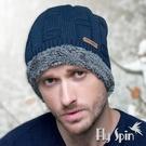 保暖針織帽-男款加厚長毛絨針織毛線帽16...