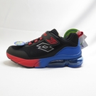 LOTTO SHINY 閃耀氣墊跑鞋 中大童款 LT1AKR3071 黑藍紅【iSport愛運動】