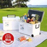 日本進口伸和SHINWA密封保溫箱飲料冷藏箱車載冰桶大容量食品保鮮igo『潮流世家』