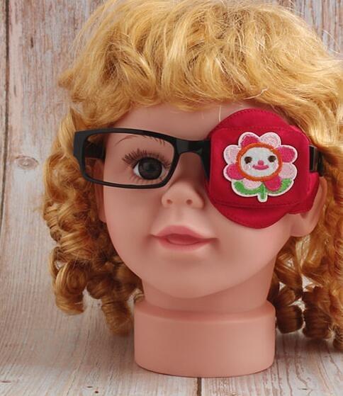 弱視眼罩單眼視力矯正眼貼遮光斜視眼鏡罩