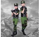 六一兒童節兵娃娃演出服裝 男童女童迷彩軍裝Lpm638【kikikoko】