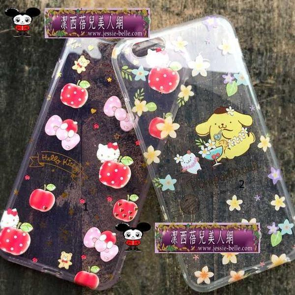 2016Hello Kitty 布丁狗 休閒下午茶系列iPhone6/6S/PLUS半透軟殼  -upcu0030029
