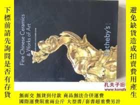 二手書博民逛書店FINE罕見CHINESE CERAMICS & WORKS O