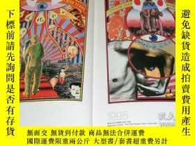 二手書博民逛書店TADANORI罕見YOKOO POSTER ART book art painting japan japane