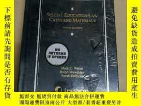 二手書博民逛書店Special罕見Education Law: Cases an