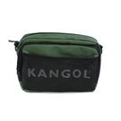 KANGOL 側背包 方包 墨綠色 6125170470 noC68