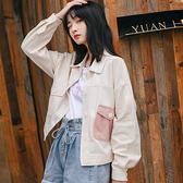 牛仔短款外套女士學生韓版2020新款寬鬆百搭上衣春秋季棒球服潮