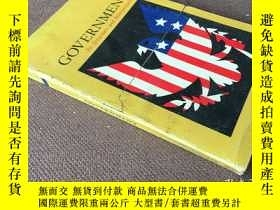 二手書博民逛書店Government:罕見Its Structure and I