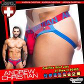 【紅】美國Andrew Christian 性感運動風後空褲 CoolFlex 90443