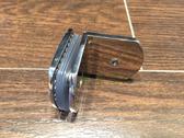 【麗室衛浴】美國KOHLER TRILOGY頂級五金鉸鍊 90度 玻對牆/不鏽鋼固定夾具 1210388-SHP