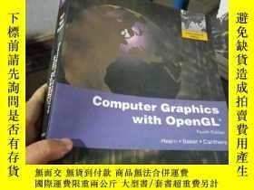 二手書博民逛書店Computer罕見Graphics With Open GL,