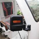 宗申電動三輪車快遞車后視鏡倒車鏡反光鏡駕駛室大鏡方鏡原廠順豐 快速出货