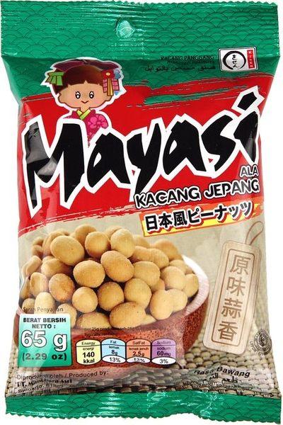 【Mayasi】日本娃娃香酥花生-原味蒜香口味