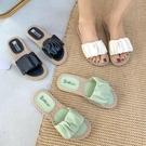拖鞋女潮外穿個性時尚新款夏季百搭平底網紅舒適軟底 - 歐美韓熱銷