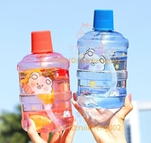 1000mlmini奶茶杯水桶 大容量水杯 吸管杯塑料夏日噸噸桶水壺【少女顏究院】