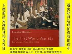 二手書博民逛書店The罕見First World War(2):The Western Front 1914–1916 (Esse