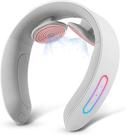NIPLUX【日本代購】頸部按摩器 頸部放鬆 力量調節USB充電 - 灰色