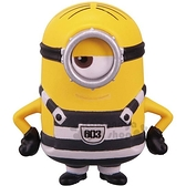 〔小禮堂]TOMICA 小小兵 公仔模型《黃.監獄服.STUART》擺飾.玩具.精緻盒裝 4904810-11652