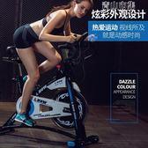 動感單車家用藍堡運動健身自行車多功能室內腳踏車健身房器材YYJ 青山市集