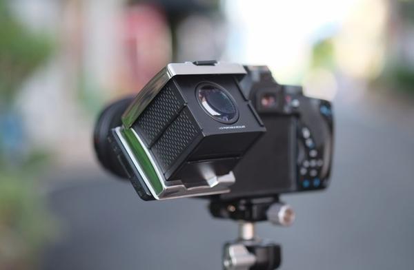 GGS 3倍液晶折疊磁吸式觀景器 MJ-N1s 黑色 【適用 NIKON D5 D4 D850 D750 D610 D7200】