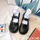 小皮鞋日系女jk2020新款夏季軟妹可愛復古英倫風百搭薄款制服單鞋 怦然心動