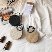 編織包 新款草編包時尚夏天小包包編織包女手提單肩斜背包度假沙灘包 俏女孩
