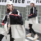 秋裝初中高中學生薄款外套少女正韓原宿風寬鬆棒球服-BB奇趣屋