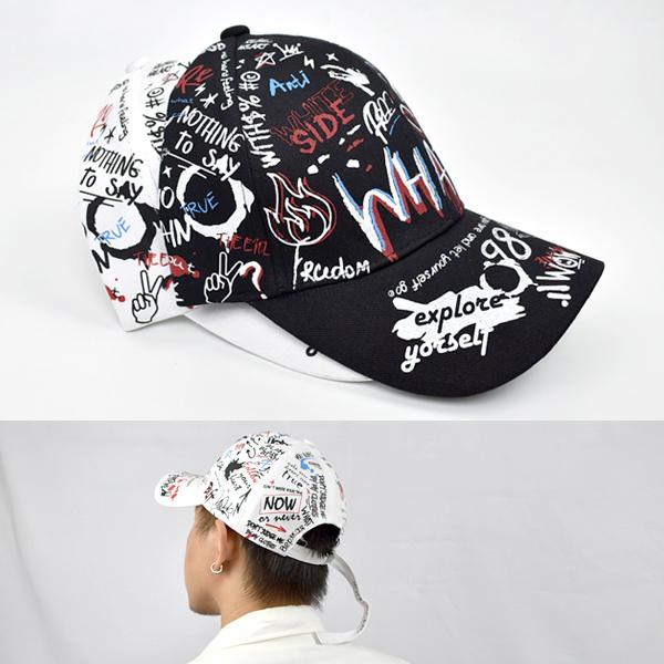老帽 街頭潮流滿版圖鴨棒球帽NHA49