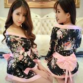全館八折最後兩天-情趣內衣 日式櫻花和服 性感空姐員警旗袍女僕護士激情套裝