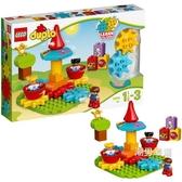 積木得寶系列10845我的小小旋轉木馬積木玩具xw