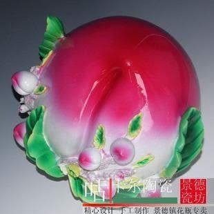 壽桃 樹脂工藝品擺設 祝壽星 特色(大)