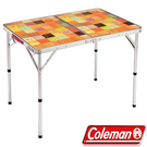 Coleman CM-26752 自然風抗菌摺疊桌 公司貨