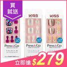 Kiss Press&Go足部指甲貼片(...