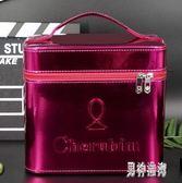 化妝箱 手提化妝包便攜多功能特大號簡約防水收納盒 BF9847『男神港灣』