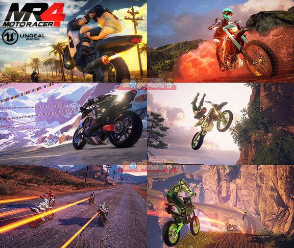 PS4 摩托雷神4 (相容VR) (摩托英豪4) -英文版- MotoRacer 4 MR4 Moto Racer 4